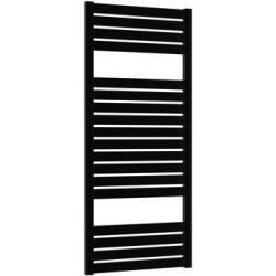 Дизайнерска лира за баня алуминиева черна  BOLD 480 * 1100