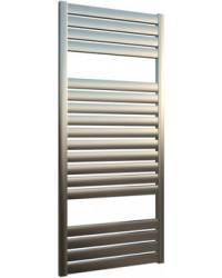 Дизайнерска лира за баня алуминиева инокс BOLD 480 * 1100