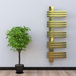 Лира за баня алуминиева GUARDIAN L антик злато