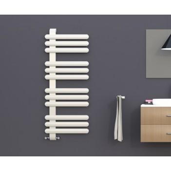 Дизайнерска перлено бяла  лира за баня SOUL L  550 * 1416