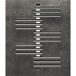 Дизайнерска лира за баня алуминиева хром SOUL XL  916 * 1416
