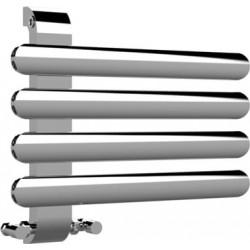 Дизайнерска хромирана  лира За Баня хром  SOUL 550 * 472