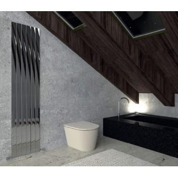 Дизайнерски радиатор алуминиев 400 * 1800 ИНОКС