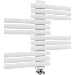 Дизайнeрска бяла лира за баня GUARDIAN 650 * 694