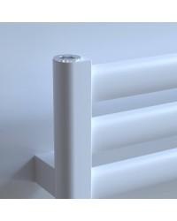Лира за баня алуминиева SPARK 480 * 900 перлено бяла