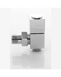 Дизайнерски кран за лира за баня ХРОМ квадрат