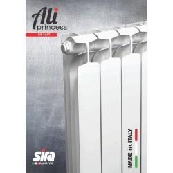 Италиански алуминиеви радиаторни глидери PRIMAVERA Die Cast H350